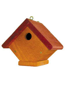 WBU Fundamentals Wren Bird House (red roof) picture