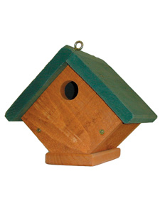 WBU Fundamentals Wren Bird House (green roof) picture