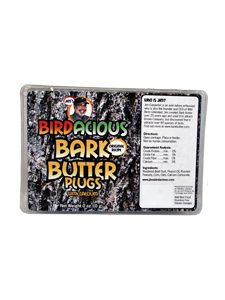 Jim's Birdacious&reg; Bark Butter&reg; Plugs - 13 oz picture