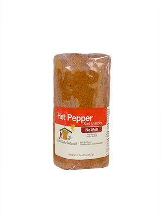 Hot Pepper No-Melt Suet Cylinder - 32 oz picture