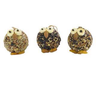 Owl Ornament Trio picture
