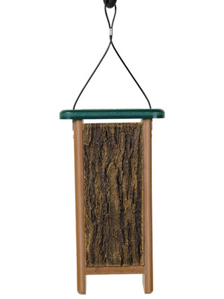 Jim's Birdacious® TreeNutty™ Woodpecker Feeder, Hanging picture