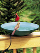 WBU Heated Bird Bath with EZ-TILT-TO-CLEAN™ Deck Mount