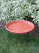 "20"" Bird Bath Dish - Clay additional picture 1"