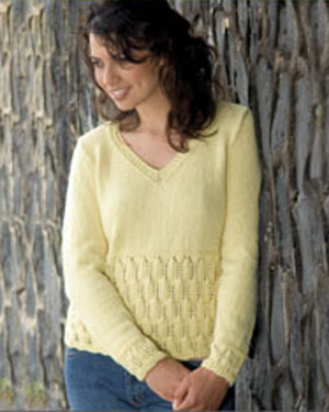 N1072 Long Sleeved V-Neck Sweater picture
