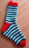HSS - Holiday Striped Stocking