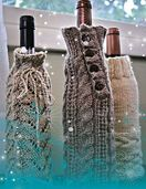 FT235 Wine Bottle Cozies by Therese Chynoweth