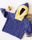 CH39 - Back Zip Baby Jacket