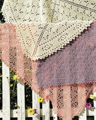 S2005 Butterfly Garden - Square Shawl or Throw