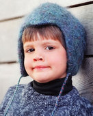 CH11 Child's Felt Cap - in 3 sizes