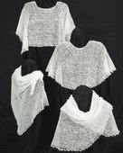AC31 Crocheted Cobweb Caplets & Shawls