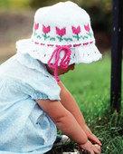 CH4 - Ruffled Tulip Hat