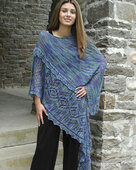 S2013e Bella - Shawl with the ease of a poncho - PDF