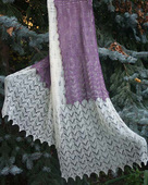 Mountain Solace Scarf or Shawl