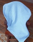 P005e - Basketweave Mesh Baby Blanket - PDF