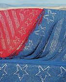 S2007 Stars and Stripes - Square Shawl or Throw