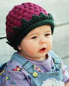 CH9 A Berry Cute Hat - in 3 sizes