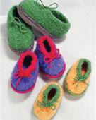 CH32e   Crocheted Felt Slippers _ PDF