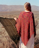 S2002 The Landscape Shawl by Evelyn A Clark