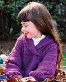 CH19  Bright Tradition - shawl collar sweater