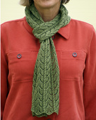 P061 - Leaf Lace Scarf