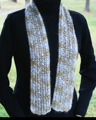 P039 - Silver Threads Scarf