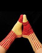 AC37 Ribs On The Side Socks