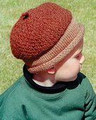 CH37e - Acorn Hat in 3 sizes - PDF