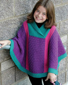 CH43   Valerie - Poncho in worsted weight