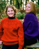 FT457e Classic Hearts Round Yoke Sweater - PDF