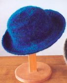 AC2 Felt Hat II - in single strand worsted weight