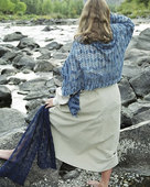 S2006e River Lace Scarf or Wrap - PDF