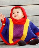 CH10 Baby Poncho - in worsted weight