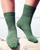 AC38 Fidalgo Feet - Northwest patterned socks