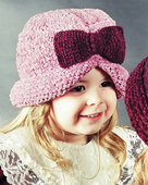 AC22 The Classy Bows Knit Hat