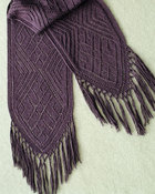 AC48 Faina's  Lace  Scarf in sport weight