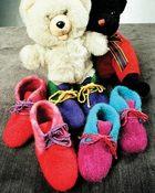 CH7 Childrens Felt Boot Slippers