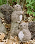 FT229 Nuts About Squirrels - felted