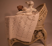CH54 Corona Baby Blanket