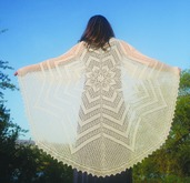 S2021e Circle of Life Shawl