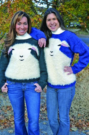 FT458e Wooly Sheep Sweater picture