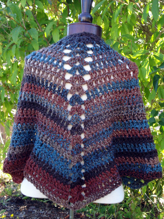 AWS52 - Angel Wing Shawl picture
