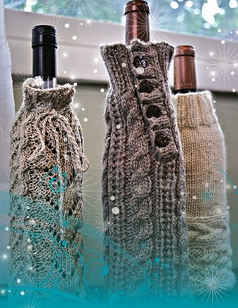 FT235e Wine Bottle Cozies by Therese Chynoweth picture