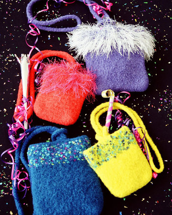AC44e Party Purses - in 2 sizes = PDF picture