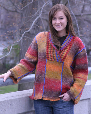 FT461e Country Weekend  Pullover - PDF picture