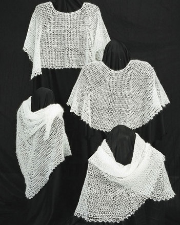 AC31 Crocheted Cobweb Caplets & Shawls picture