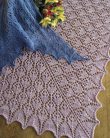 S2014e The Flower Basket Shawl - PDF picture