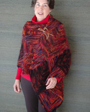 Fat's Domino Wrap/Shawl Pattern picture