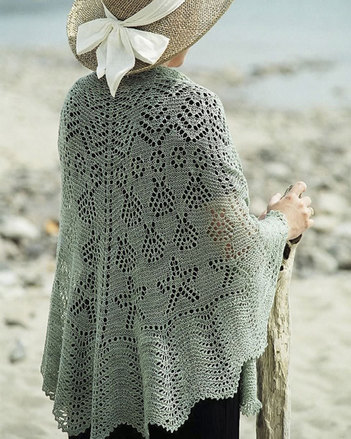 S2008  The Seascape Lace Shawl picture