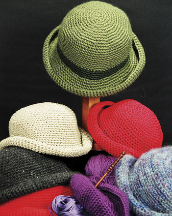 AC30e Crocheted Crusher Hat - PDF picture